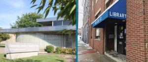 Harrison and Tarentum library buildings