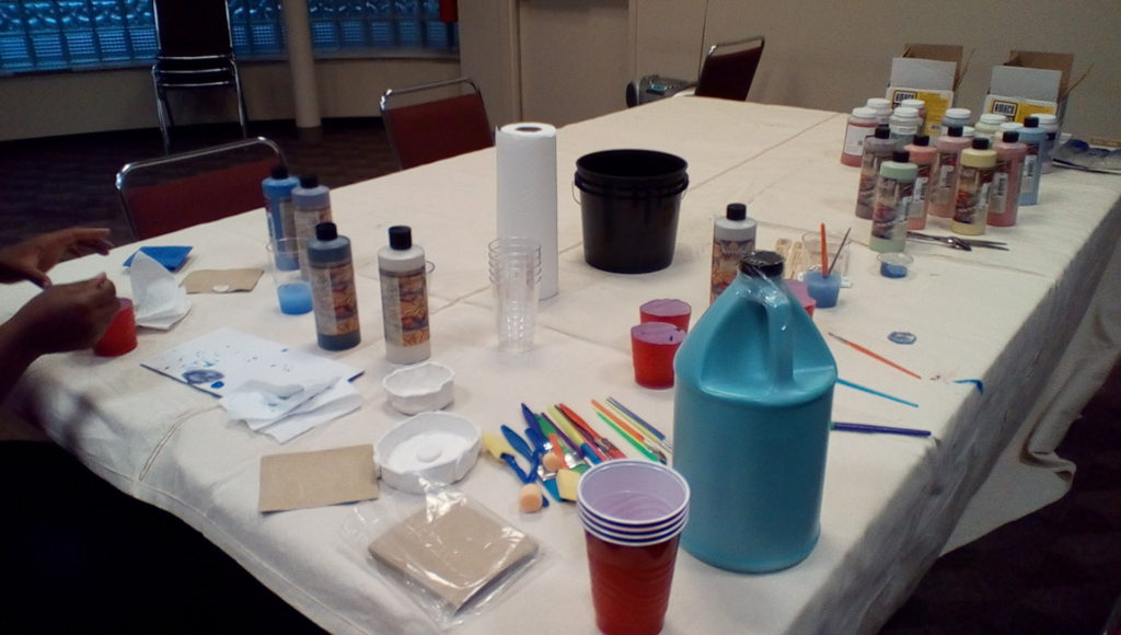 Adult Makerspace tools