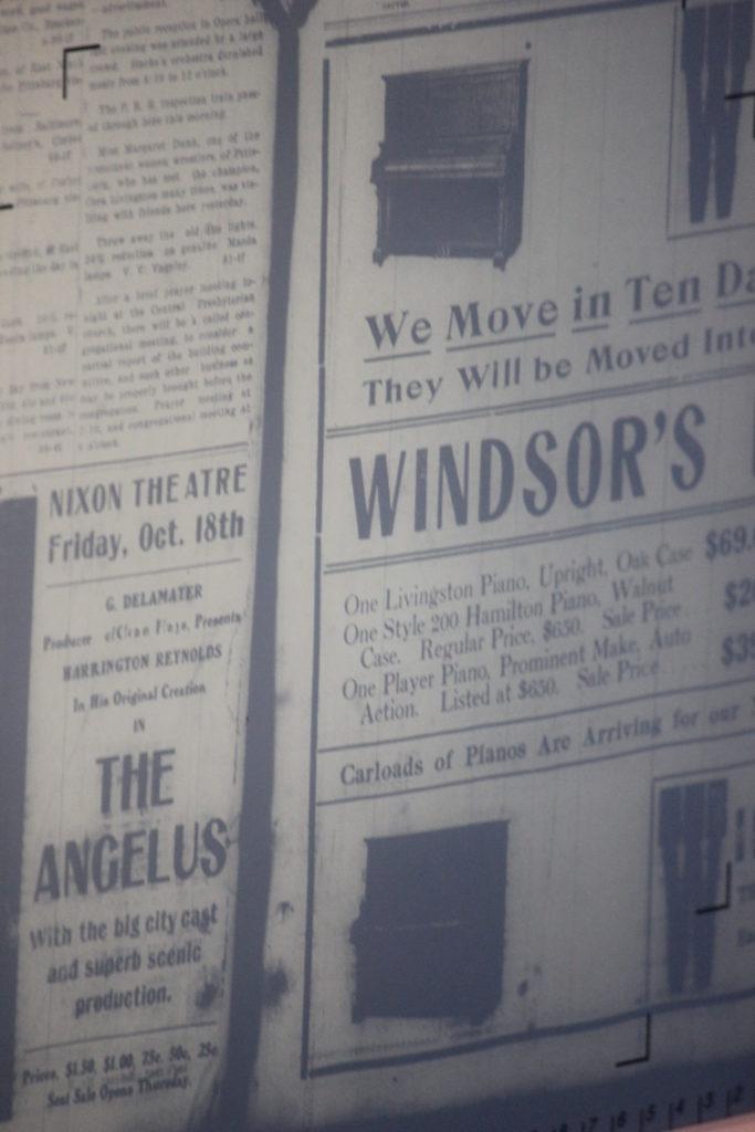 An old newspaper