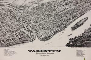 Old map of Tarentum
