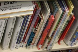 More books on a shelf
