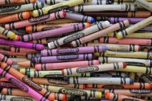 Lots of crayons